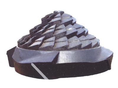 两段式煤气炉炉栅(风帽)